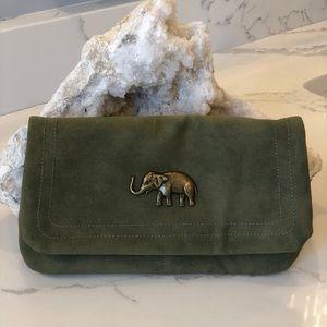 Handbags - Army green clutch/crossbody